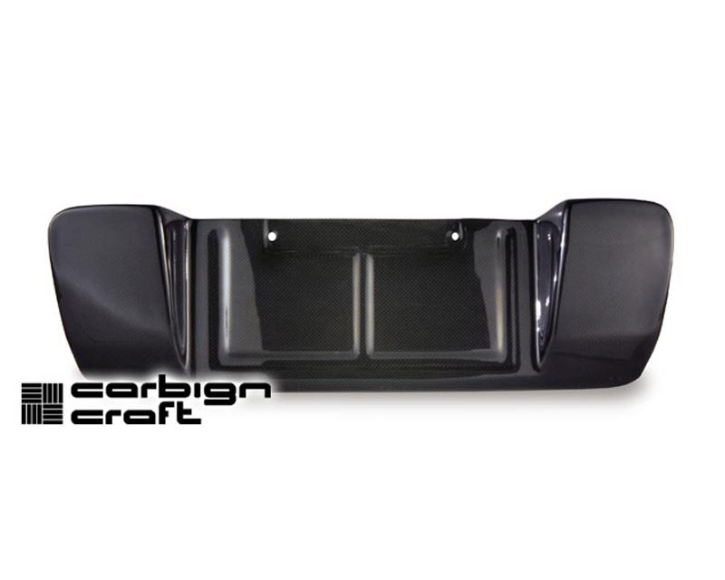 Carbign Craft Carbon Fiber License Plate Backing Subaru WRX STI 04-07 - CBX-WRXLIC