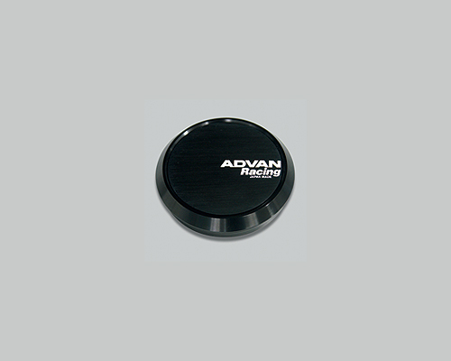 Advan 73mm Center Cap 114.3/120 PCD Flat Type Black - YPADCC73FB