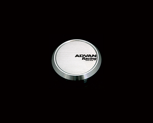 Advan 73mm Center Cap 114.3/120 PCD Flat Type Silver - YPADCC73F
