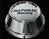 Image of Advan 63mm Center Cap 100112 PCD High Type Chrome