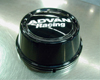 Image of Advan 63mm Center Cap 100112 PCD High Type Black