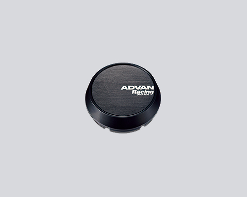 Advan 63mm Center Cap 100/112 PCD Middle Type Black - Z9936