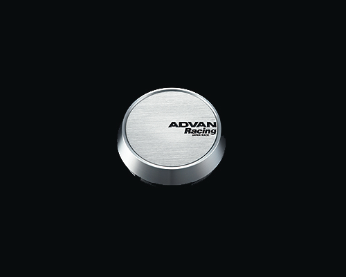 Advan 63mm Center Cap 100/112 PCD Middle Type Silver - Z9935