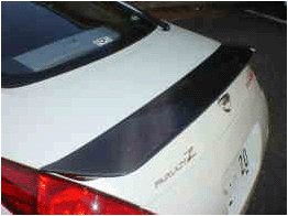 Central 20 350Z Rear Trunk Spoiler CRB