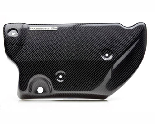 Password JDM Dry Carbon Fiber Engine Cover Mitsubishi EVO X 08-12 - PWCIM-EVX-00C
