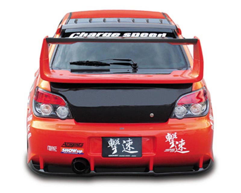 ChargeSpeed Type 2 Rear Bumper with Carbon Diffuser Subaru WRX GDA 02-03 - CS978RB2