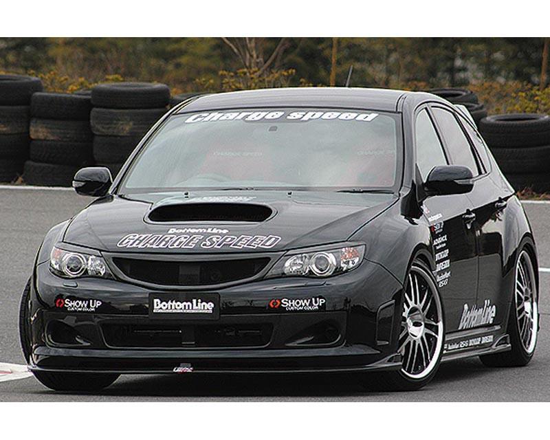 ChargeSpeed Bottom Line Carbon Full Lip Kit Subaru WRX STI GRB 08-12 - CS979FLK1C