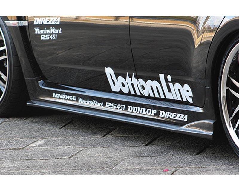 ChargeSpeed Bottom Line FRP Side Skirts Subaru WRX STI GRB 08-12 - CS979SSF