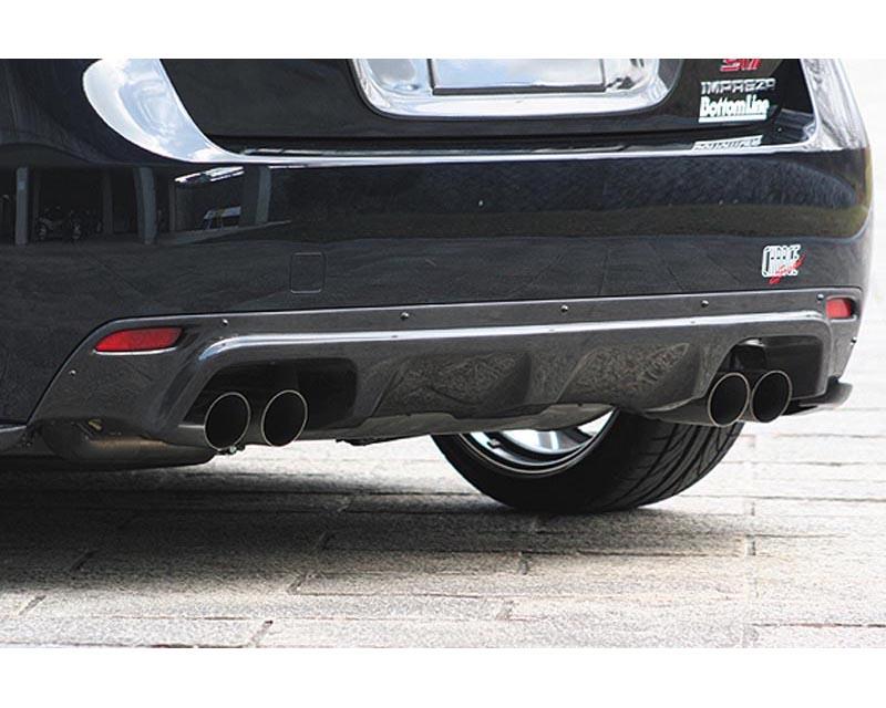 ChargeSpeed Carbon Rear Bumper Diffuser Subaru WRX STI GRB 08-12 - CS979RDC
