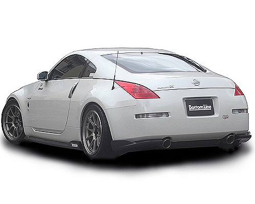 chargespeed bottom line carbon lip kit nissan 350z