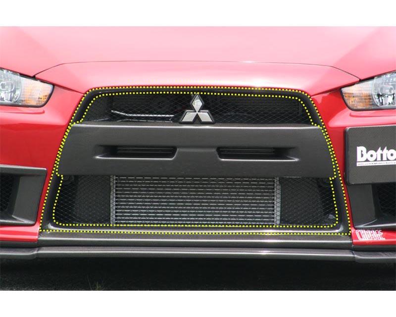 ChargeSpeed Carbon Center Frame Mitsubishi EVO X 08-12 - CS427CFC
