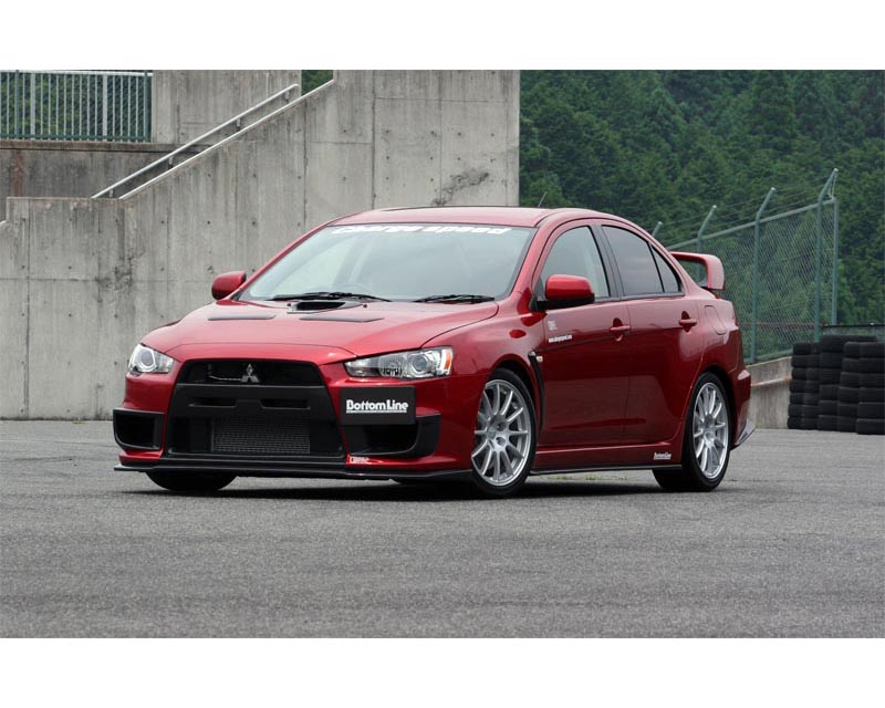 ChargeSpeed Bottom Line Type 1 FRP Body Kit Mitsubishi EVO X 08-12 - CS427FLK1F