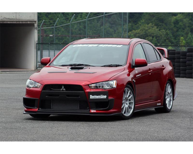 ChargeSpeed Bottom Line Type 1 Carbon Body Kit Mitsubishi EVO X 08-12 - CS427FLK1C