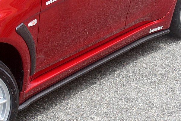 ChargeSpeed Bottom Line Type 1 FRP Side Skirts Mitsubishi EVO X 08-12 - CS427SS1F