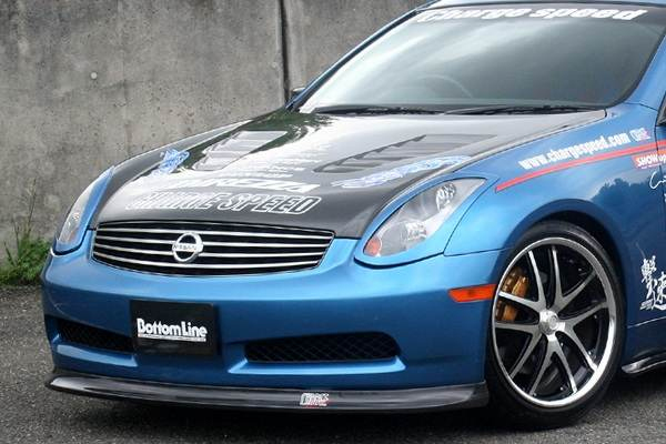 ChargeSpeed Bottom Line FRP Front Lip Spoiler Infiniti G35 Coupe 03-05