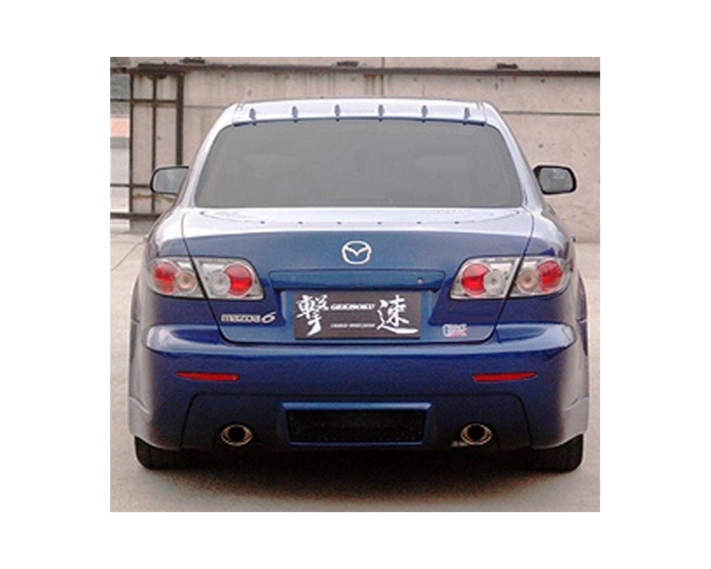 ChargeSpeed Rear Bumper Mazda 6 03-08 - CS595RB