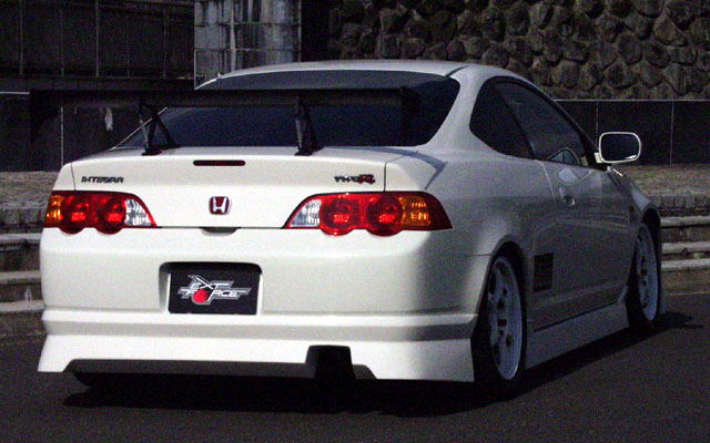 ChargeSpeed Rear Under Spoiler Acura RSX DC5 02-04 - CS207RS1