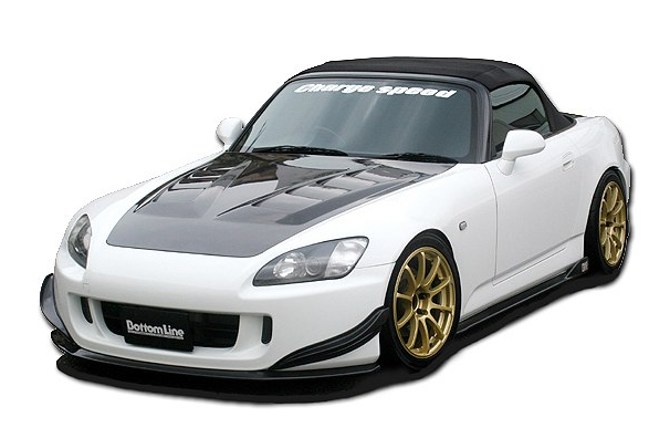 ChargeSpeed Bottom Line Carbon Full Lip Kit Honda S2000 AP2 05-08 - CS331FLKC