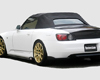 ChargeSpeed Bottom Line Carbon Rear Lip Caps Honda S2000 AP1 00-04 - CS330RCC