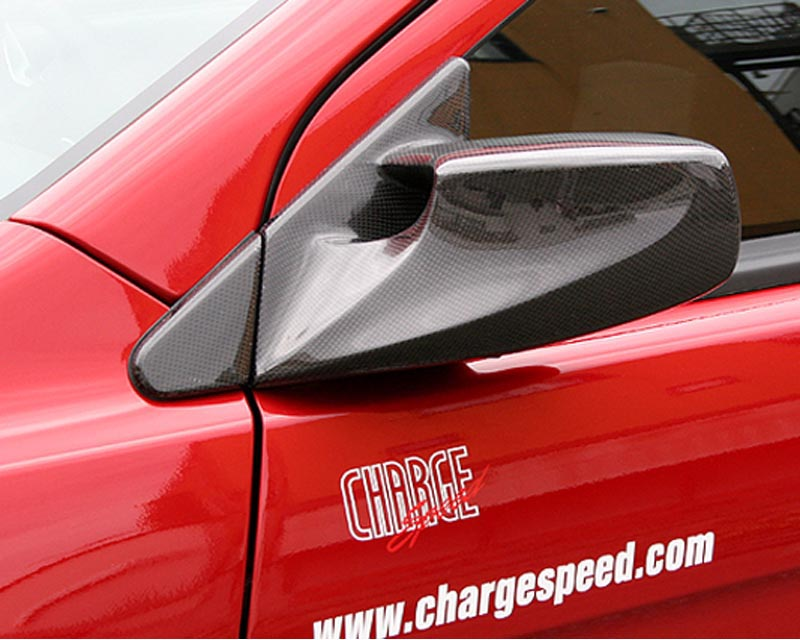 ChargeSpeed FRP Aero Mirrors Mitsubishi EVO X 09-10 - CS427AM