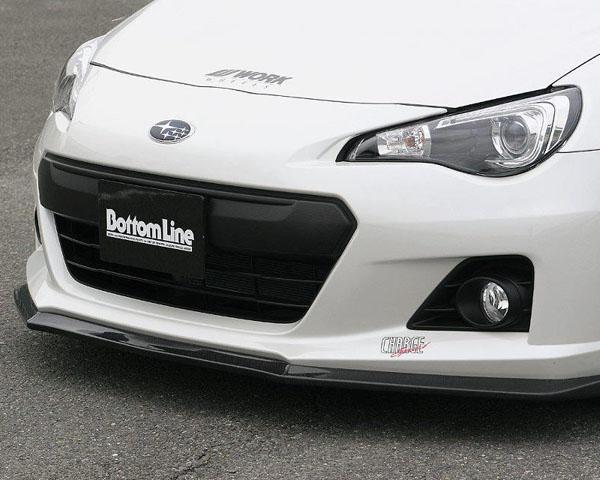 ChargeSpeed Bottom Line Carbon Front Lip Subaru BRZ 13+ - CS990FL1C