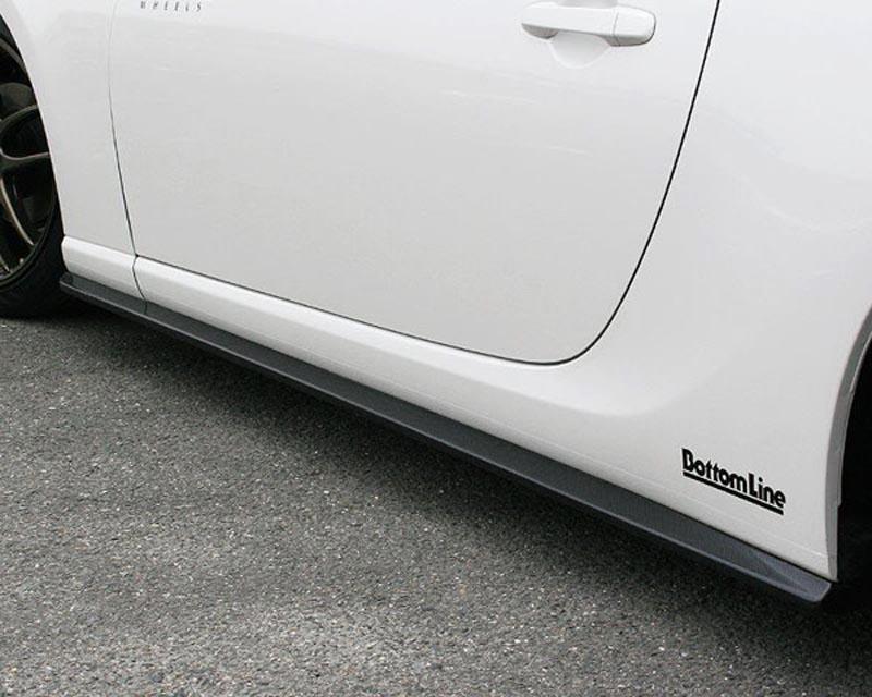 ChargeSpeed Bottom Line Carbon Side Skirts Subaru BRZ / Scion FR-S / Toyota GT-86 13-18 - CS990SSC