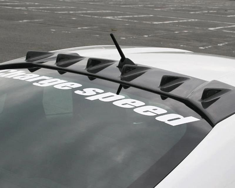 ChargeSpeed Bottom Line Carbon Roof Fin Subaru BRZ / Scion FR-S / Toyota GT-86 2013-2021 - CS990RFC