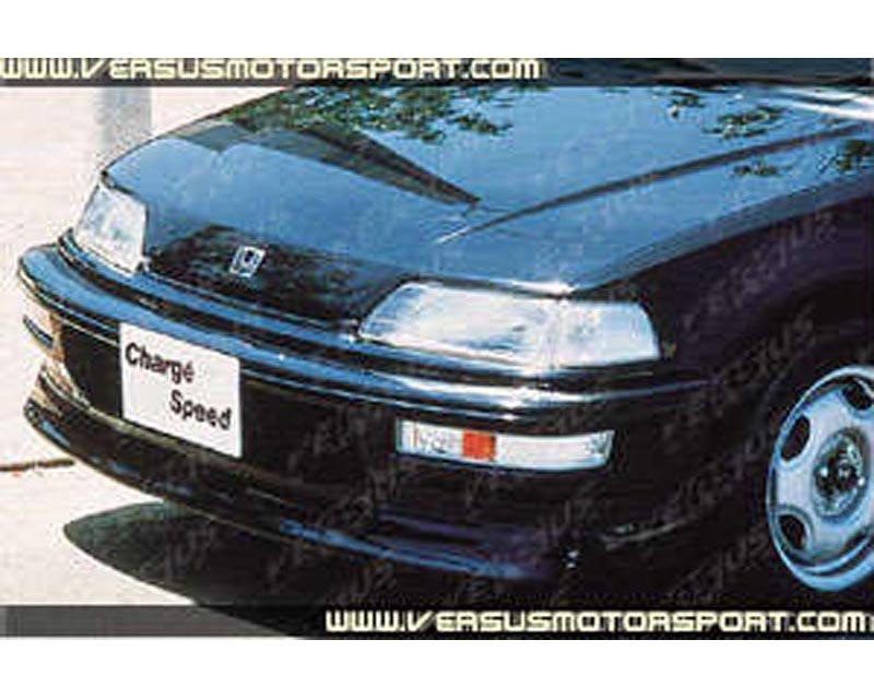 Charge Speed Front Spoiler (Japanese FRP) Honda Civic EF9 HB 90-91 - BCHC90-CS311FLK