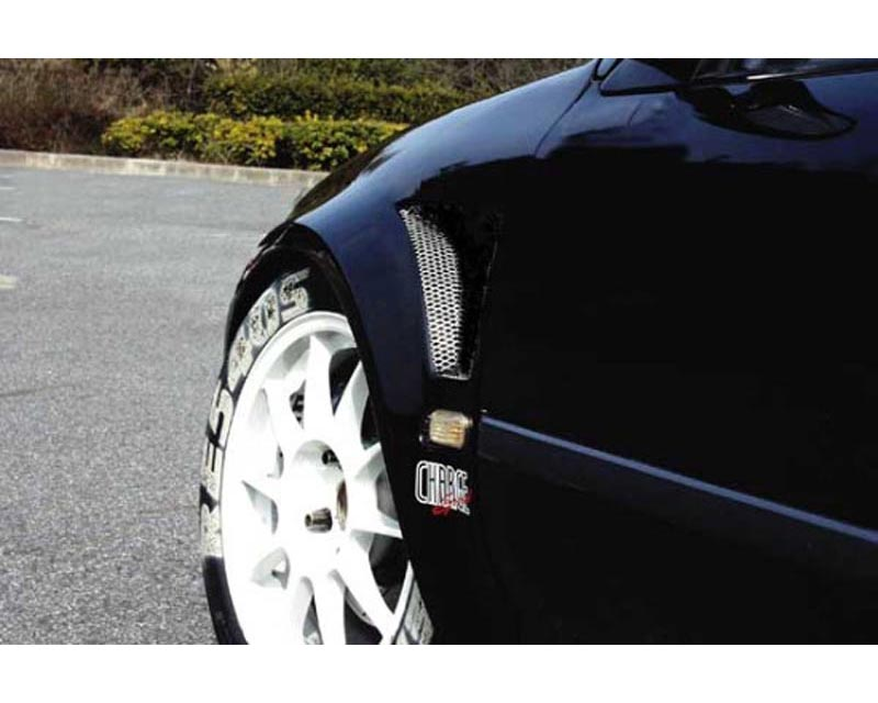 Charge Speed D-1 Style 20MM Wide Body Front Fenders (Japanese FRP) Pair  Honda Civic EG HB  92-95 - BCHC92-CS215FF
