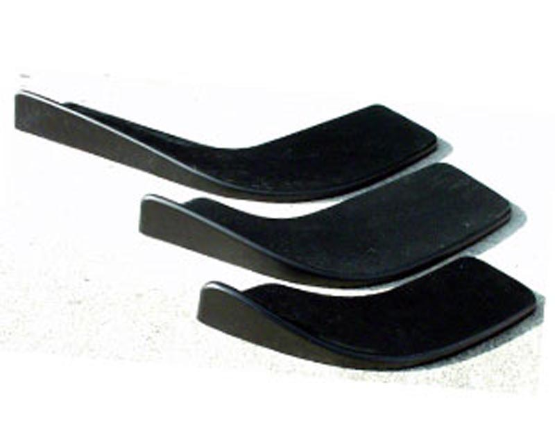 Charge Speed Universal Carbon Cup Spoiler Large Size (CFRP) Pair - BC-AS1300C