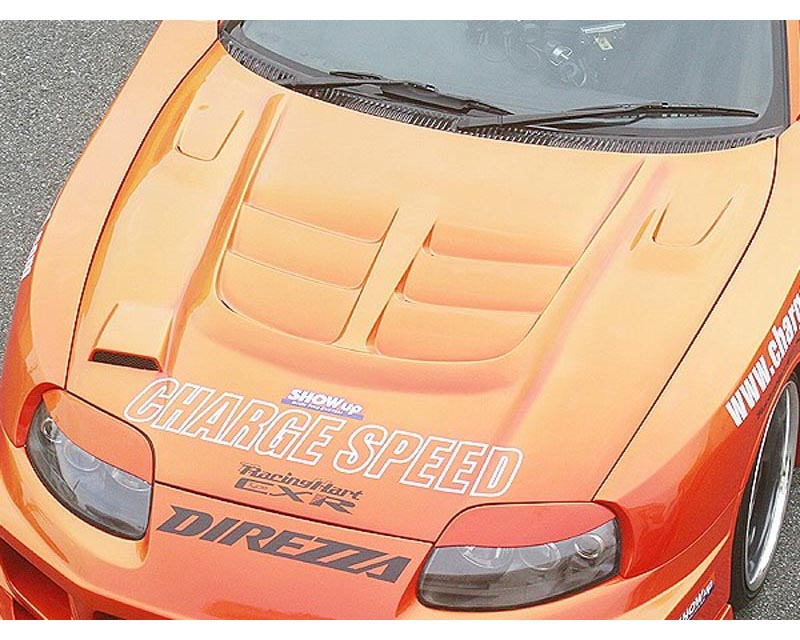 ChargeSpeed FRP Vented Engine Hood Toyota Supra JZA80 93-98 - CS890HFV