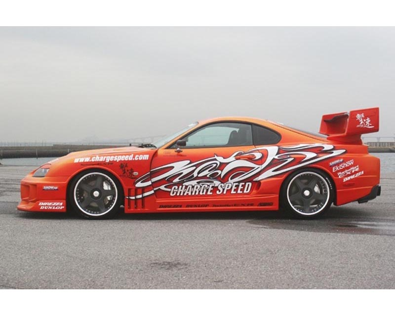ChargeSpeed GT Wide Body Side Skirts Toyota Supra JZA80 93-98 - CS890SSW