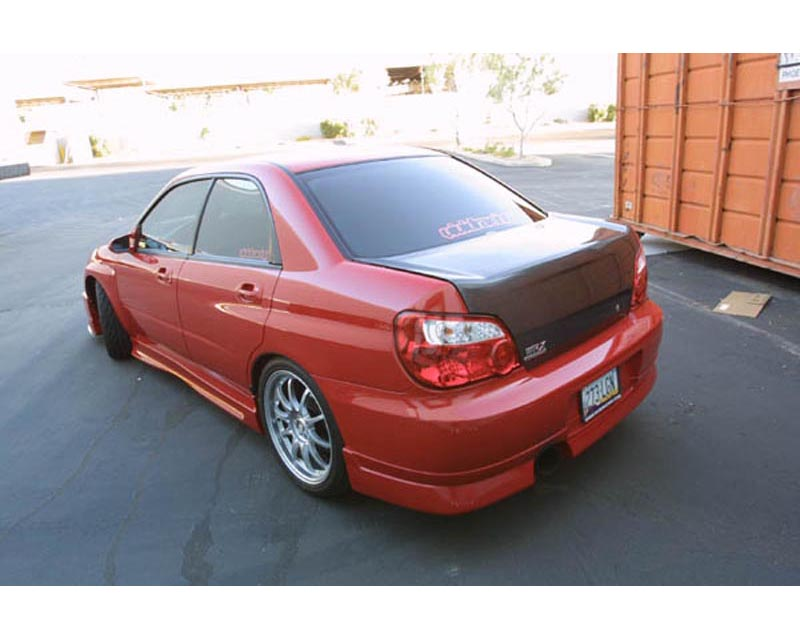 ChargeSpeed Type 1 Full Lip Spoiler Kit Subaru WRX STI GDB 2004 - CS977FLK