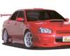 Image of Chokets Front Lip Spoiler Subaru WRX STI 04-07