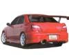 Image of Chokets Rear Lip Spoiler Subaru WRX STI 02-07