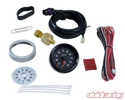 AEM Electronics Oil Pressure Gauge SAE, 2-in-1 - 30-5135