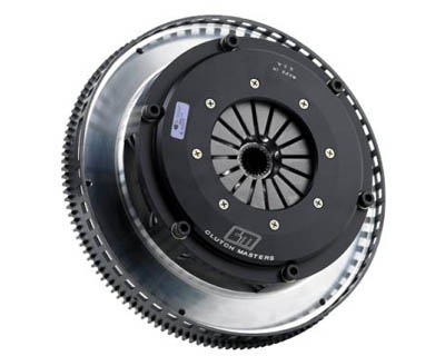 Clutch Masters TD725 Stage 6 Twin Street Clutch w/Steel Flywheel Audi A4 1.8T 97-05 - 02027-TD7S-S