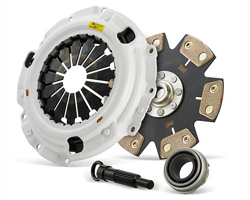 Clutch Masters FX500 Rigid 6-Puck Clutch w/Flywheel Honda H-Series w/B-Series Trans 85-01