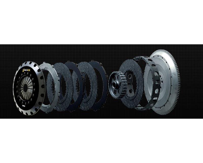 Carbonetic Triple Carbon Clutch 1350kg Subaru WRX STI 04-06 - ACS23320-14