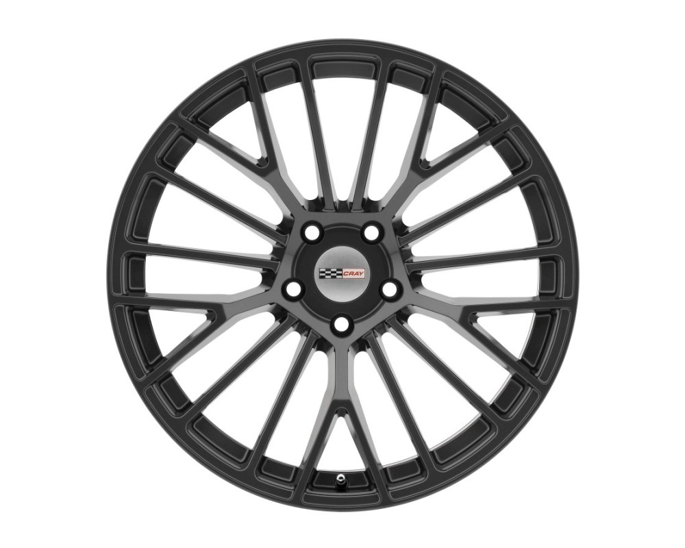 Cray Astoria High Gloss Gunmetal Wheel 19x11 5x120.65|5x4.75 76mm CB70.3 - 1911CRT765121G70