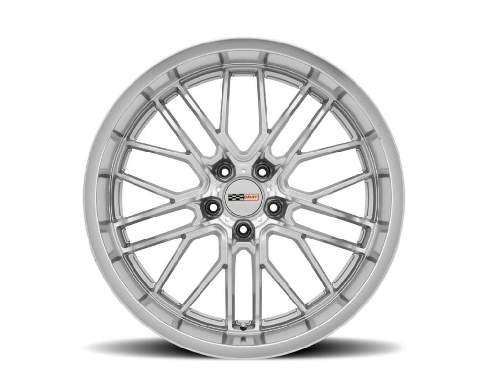 Cray Eagle Wheel 19x10.5 5x120.65 5x4.75 69mm Silver w/ Mirror Cut Face & Lip - 1905CRE695121S70