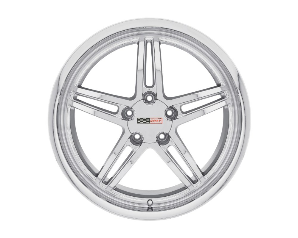 Cray Scorpion Chrome Wheel 17x9 5x120.65|5x4.75 50mm CB70.3 - 1790CRS505121C70