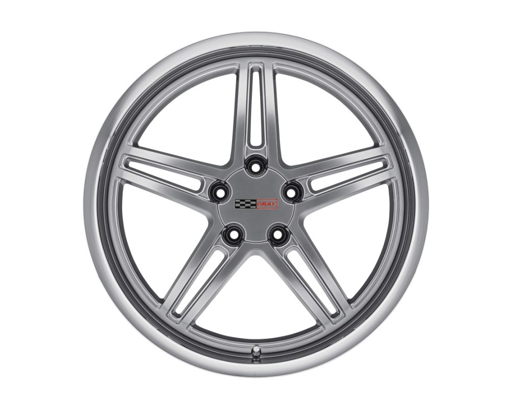Cray Scorpion Wheel 20x9 5x120.65|5x4.75 50mm Hyper Silver w/ Mirror Cut Lip - 2090CRS505121S70