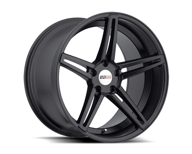Cray Brickyard Matte Black Wheel 18x9.5 5x120.65 56mm - CR-1895CRB565121M70