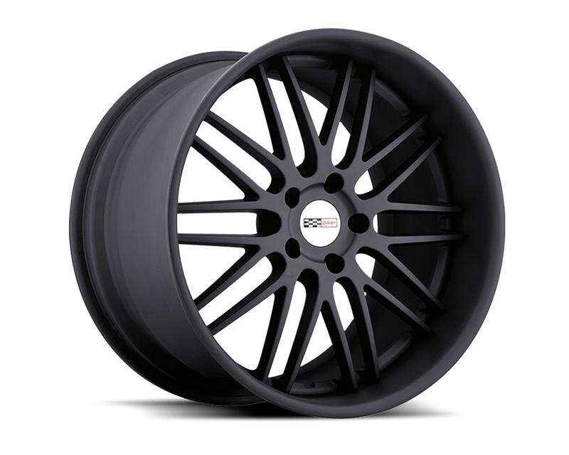 Cray Hawk Matte Black Wheel 18x9 5x120.65 50mm - CR-1890CRH505121M70