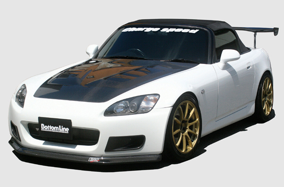 ChargeSpeed Bottom Line FRP Front Lip Honda S2000 00-04 - CS330FLF