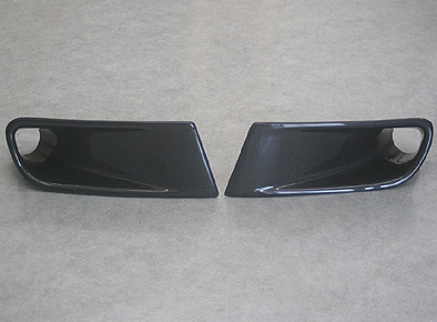 ChargeSpeed FRP Brake Duct for OEM Bumper Honda S2000 00-04 - CS330BD
