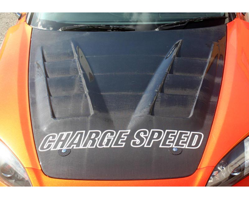 ChargeSpeed Carbon Vented Hood Honda S2000 00-08 - CS330HCV