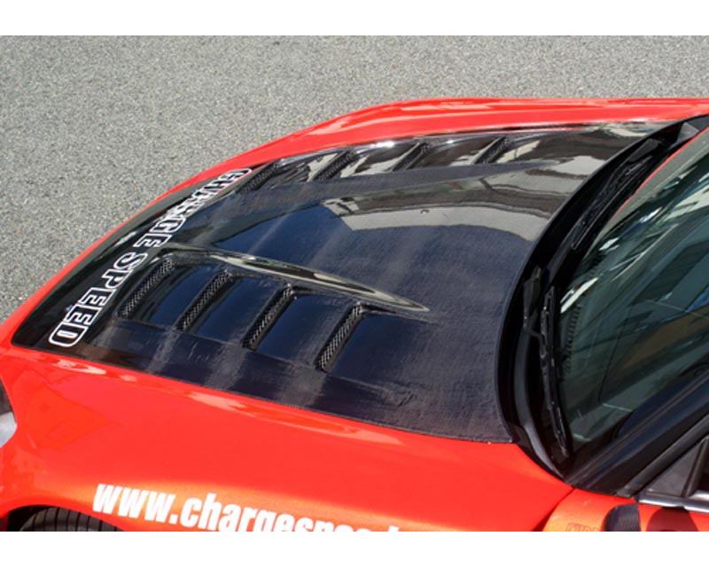 ChargeSpeed FRP Vented Hood Honda S2000 00-08
