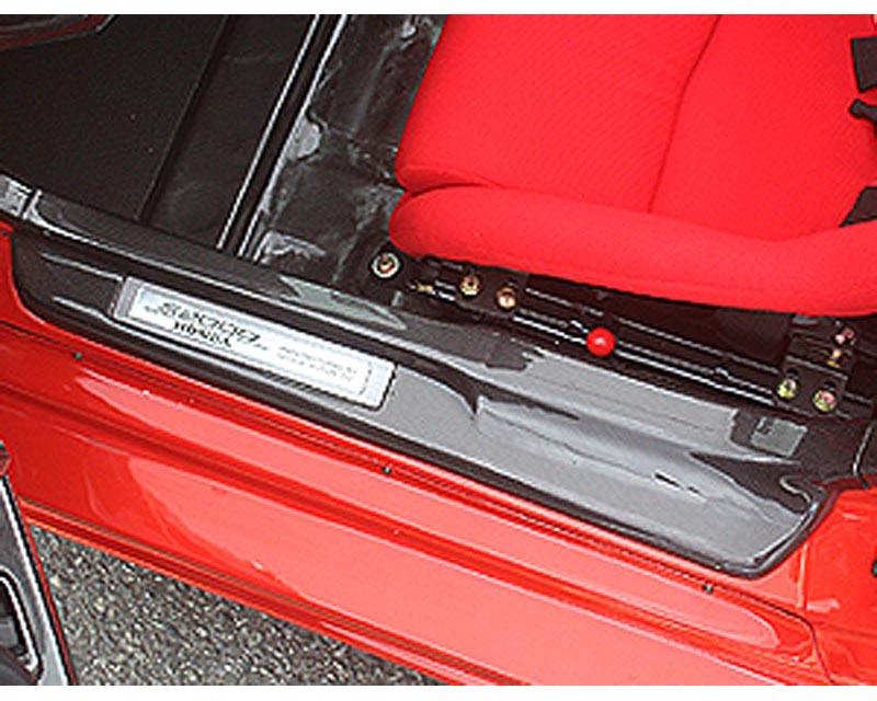 ChargeSpeed Carbon Door Sill Plates Honda S2000 00-08 - CS330DSC